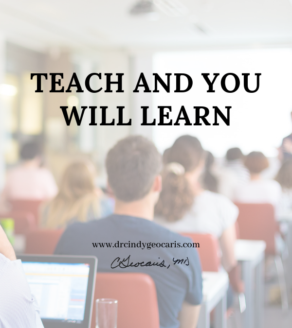 Teach and You Will Learn
